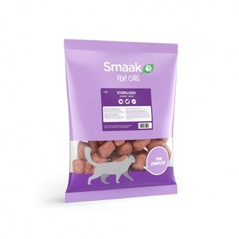 Smaak Raw Complete Cat Sterilised 1 kg
