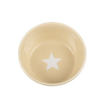 Basic Star skål beige**