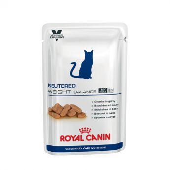 Royal Canin Veterinary Care Cat Neutered Weight Balance Våtfoder 100 g