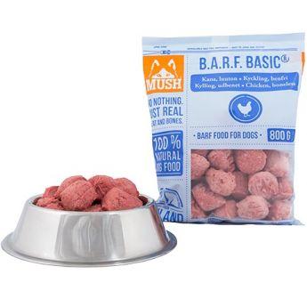MUSH BARF Basic® Kyckling Benfri (800 gram)