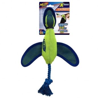 NERF Dog Mesh Weave Duck Launcher Lime Blå