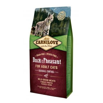Carnilove Cat Adult Hairball Anka & Fasan