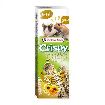 Versele-Laga Crispy Sticks Gerbil-Mus Solrosfrö & Honung 2 pack 110g