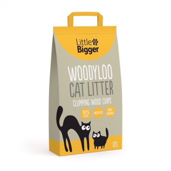 Little & Bigger Kattsand Woodyloo 10 liter**