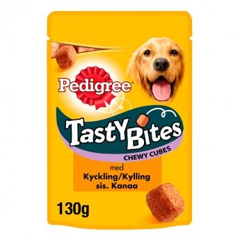 Pedigree Tasty Bites Chewy 130 g