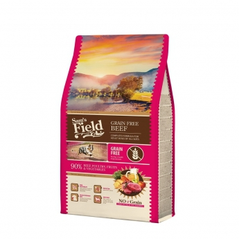 Sam´s Field Adult Grain Free Beef (2,5 kg)