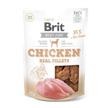 Brit Care Meaty Jerky Chicken Fillets (80 g)