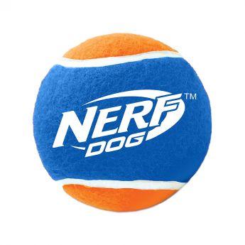 Nerf Stor tennisboll för hund (Mångfärgad)