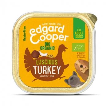 Edgard & Cooper Dog Ekologisk Kalkon 100 g**