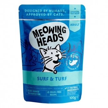 Meowing Heads Supurrr Surf & Turf 100 g