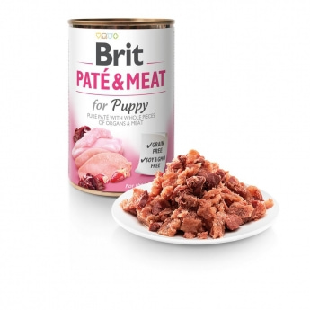 Brit Care Pate & Meat Puppy 400 g
