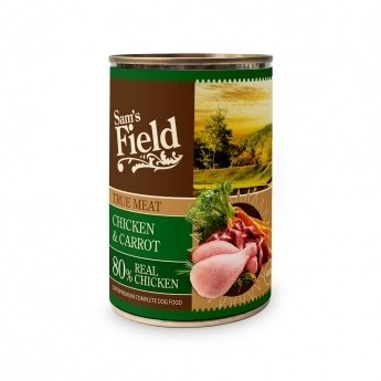 Sam's Field Chicken & Carrot 400 g