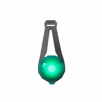 Basic Jewel LED Lampa USB (Grön)
