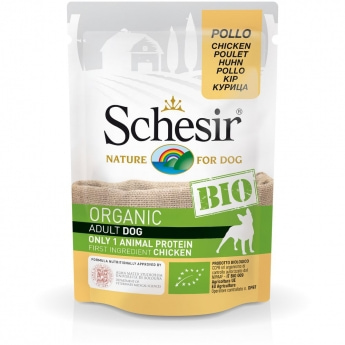 Schesir Bio Dog Adult Chicken (85 g)