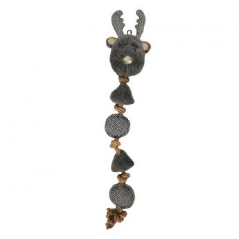 Bark-a-Boo Scandi MultiToyRope Ren (48 cm)