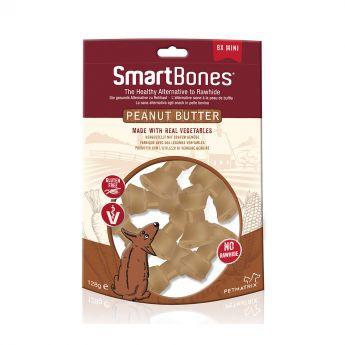 SmartBones Jordnötssmör Mini 8-pack