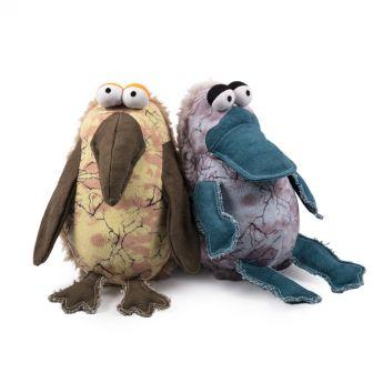Little&Bigger Batic Fåglar (Mångfärgad)**