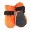Basic Paws Fleece Hundskor Korta Orange 4-pack