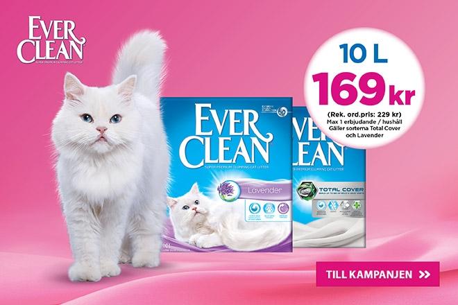 Ever Clean Lavendel & Total Cover 10 l nu 169 kr