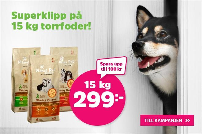 Kampanj på Planet Pet Society hundmat
