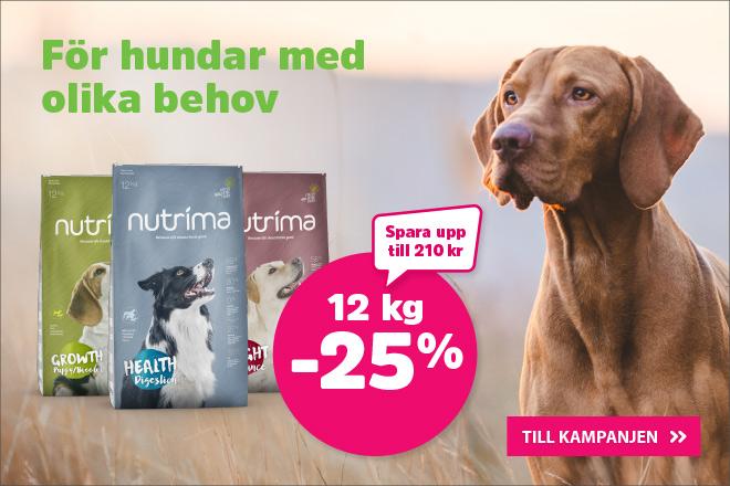 Kampanj på Nutrima hundmat