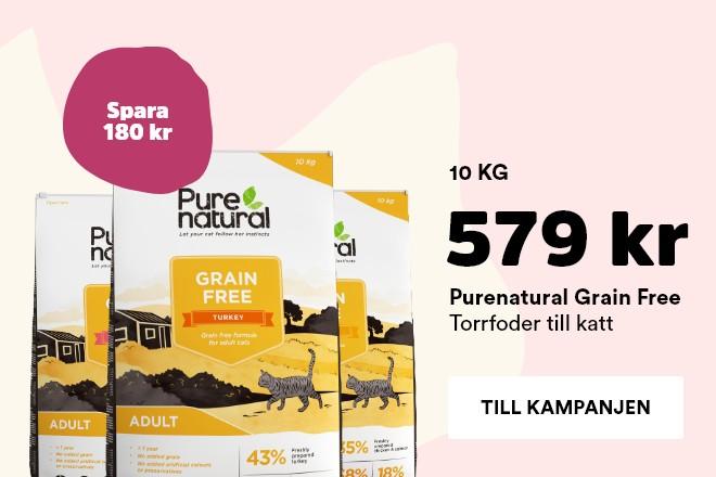 Kampanj Purenatural Kitten 10 kg nu 599 kr