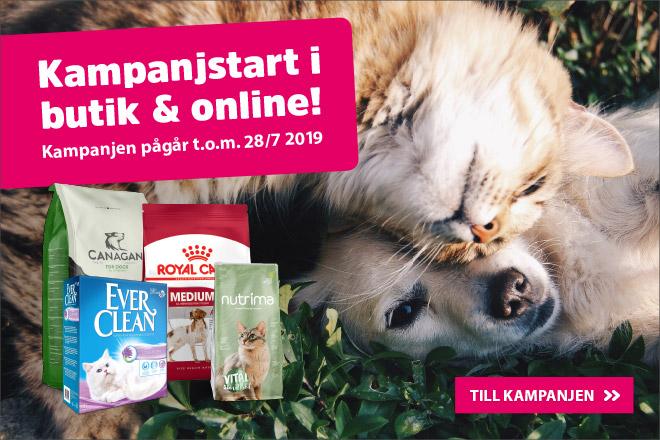 Kampanjstart i butik och online!
