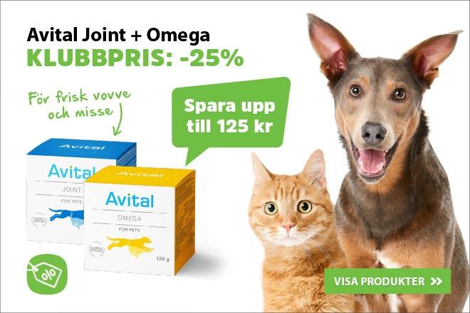 25% på Avital Joint & Omega