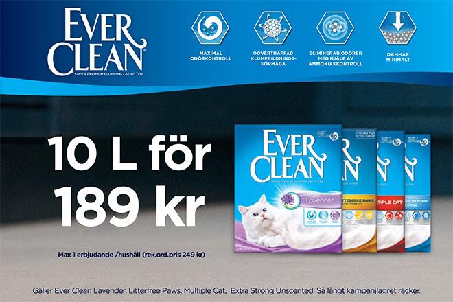 Ever Clean kampanj