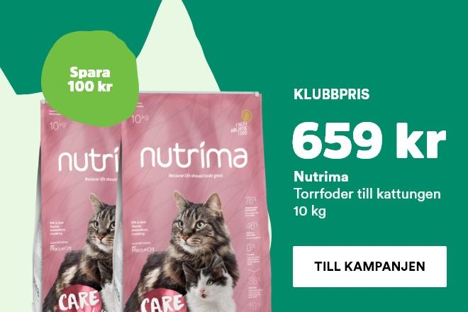Nutrima kitten 10 kg nu 659 kr