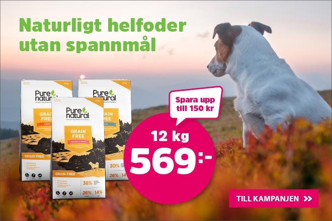 Purenatural Grain Free hundmat 12 nu 569 kr