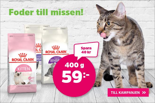 Royal Canin kattmat 400 g nu 59 kr