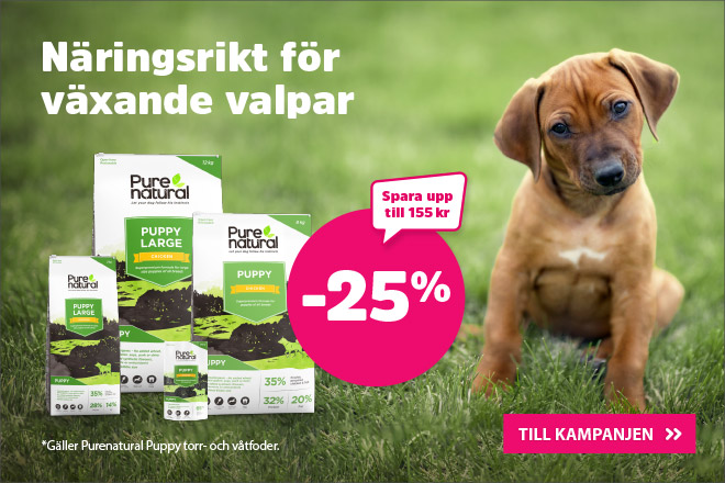 25% på Purenatural Puppy