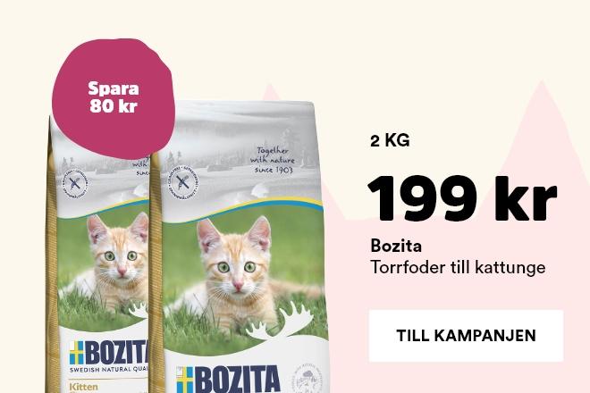 Kampanj på Bozita Kitten 2 kg