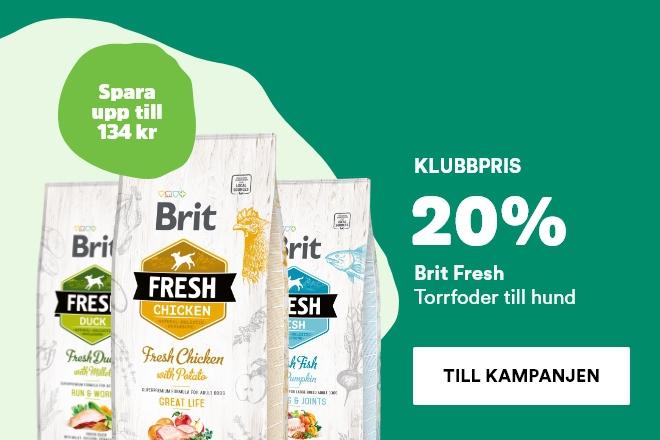 Klubbpris - 20% Brit Fresh