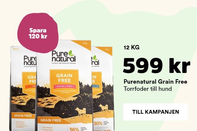 kampanj Purenatural grain free hundmat