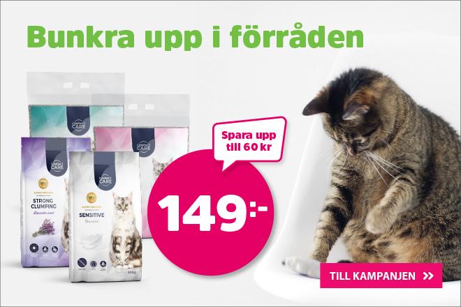 Compact Care kattsand 149 kr
