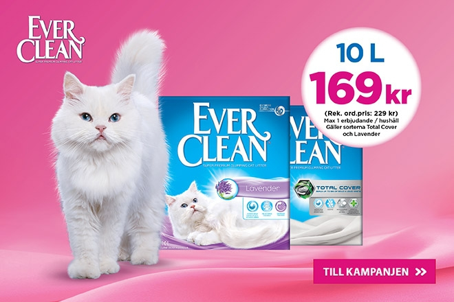 Ever Clean Lavendel & Total Cover 10 l 169 kr