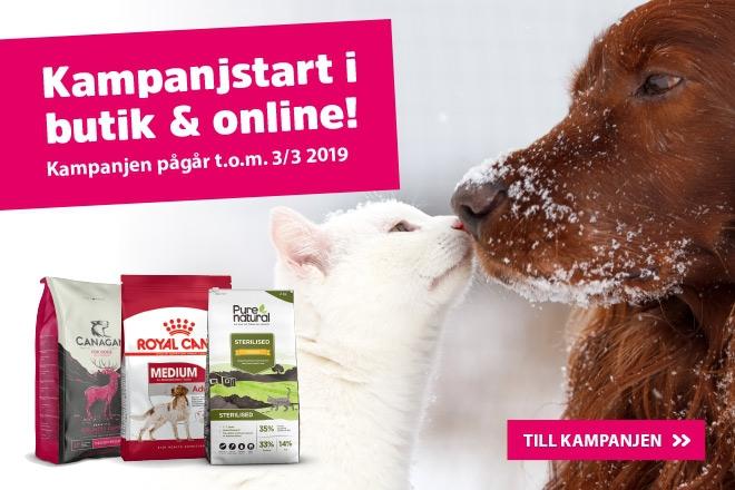 Kampanjstart online och butik!