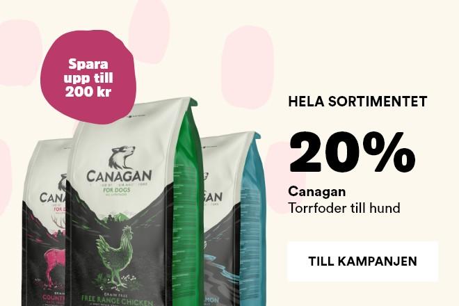 kampanj på Canagan torrfoder till hund