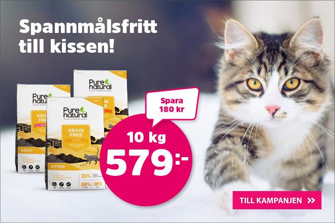 Purenatural Cat Grain Free 10 kg nu 579 kr
