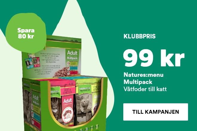 natures:menu multipack nu 99 kr