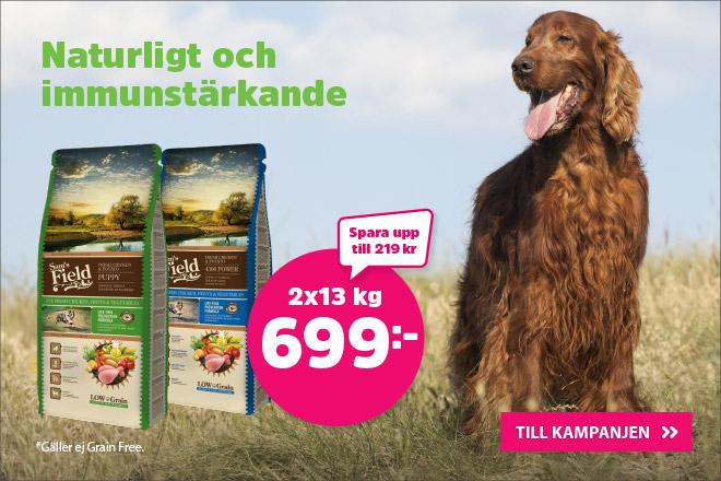 Sams Field hundmat 13 kf 2 för 699 kr