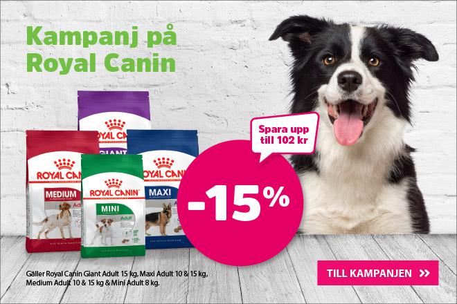 Kampanj - 15% Royal Canin SHN Adult 8-15 kg