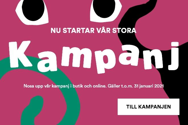 Kampanjstart i butik och online