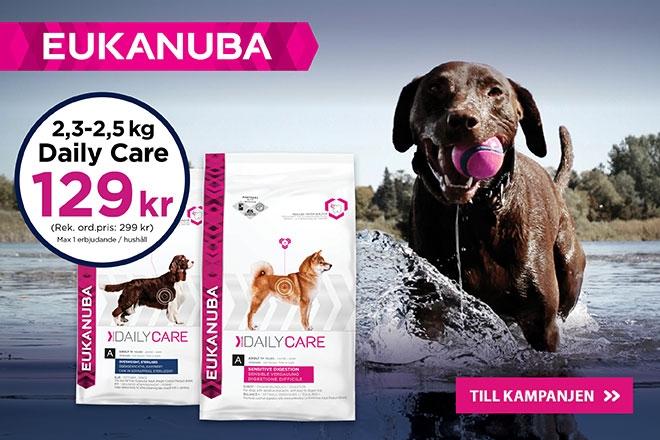 Eukanuba Daily Care nu endast 129 kr