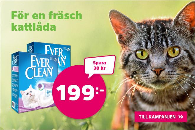 Ever Clean kattsand 10 liter nu 199 kr