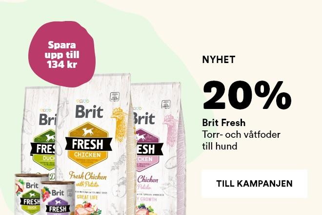 20% på Brit Fresh hundmat