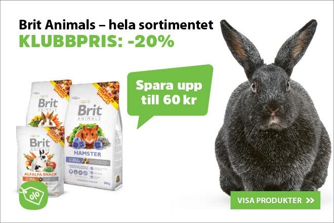 20% på brit Animals