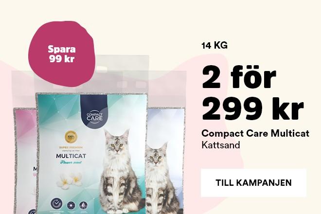 Kampanj Compact Care Multicat kattsand